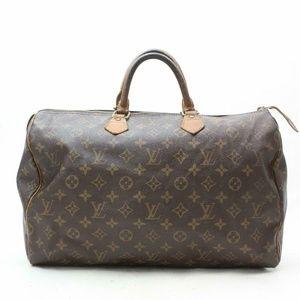 Auth Louis Vuitton Speedy 40 Boston Bag #2066L17